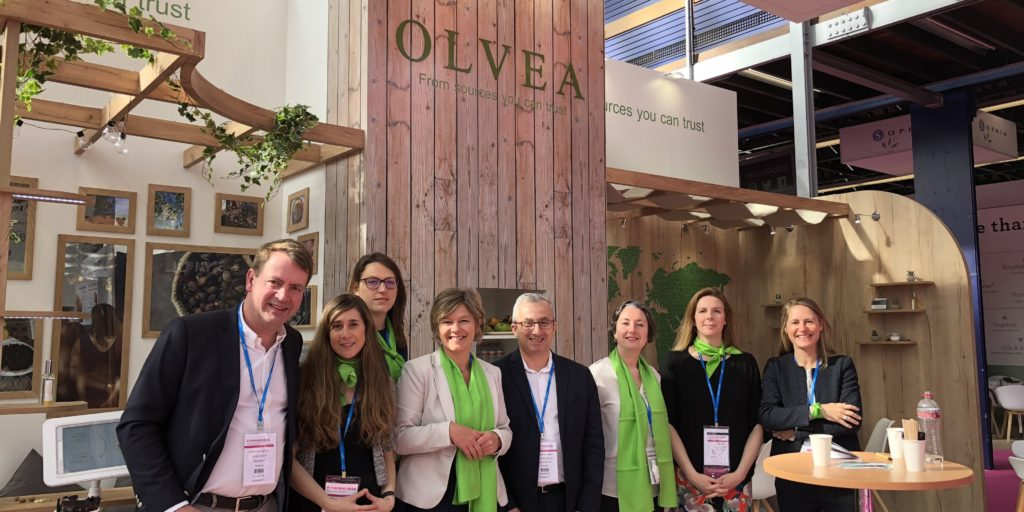 OLVEA - incosmetics leading cosmetic vegetable oil supplier