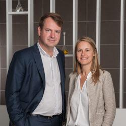 Arnauld Daudruy and Caroline Mayaud Daudruy