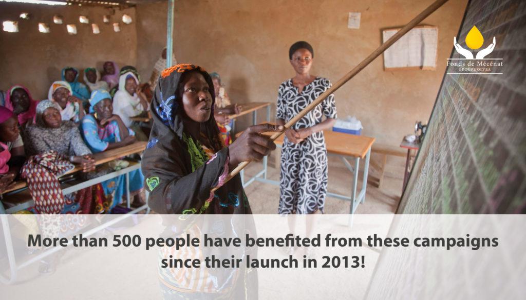 Literacy campaign in Burkina Faso - February 2019