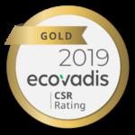 Ecovadis - Gold - 2019
