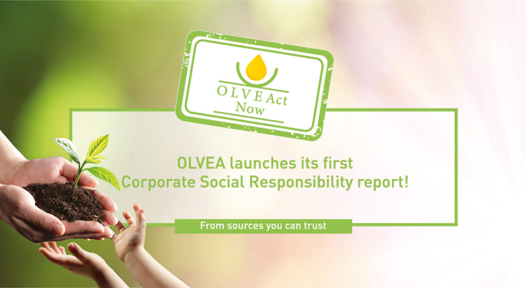 OLVEAct Now - Performance Report - Corporate Social Responsibility - 2019-2020 - OLVEA Vegetable Oils